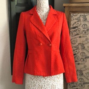 Banana Republic Orange/Red Blazer